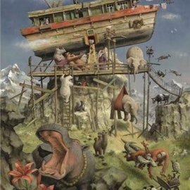 Marius van Dokkum puzzel - Ark van Noach (1000 stukjes)