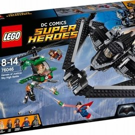 Lego Lego 76046 Heroes Of Justice: Luchtduel