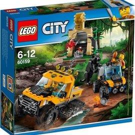 Lego Lego 60159 Jungle missie met halfrupsvoertuig