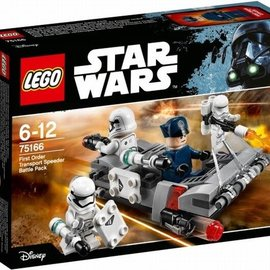 Lego Lego 75166 First Order Transport Speeder Battle Pack