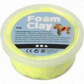 Foam Clay Foam klei neon geel 35 gram