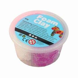 Foam Clay Foam klei 4 kleurenset meisjes 80 gram totaal