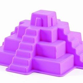 Hape Hape Zandvorm Maya pyramide paars