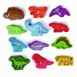 Hape Hape Houten speelblokken dinosaurussen