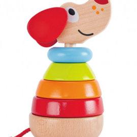 Hape Hape Pepe stapelhond (met geluid)