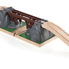 Brio Brio 33391 Klapbrug (incl. 2 baanverhogende rails)