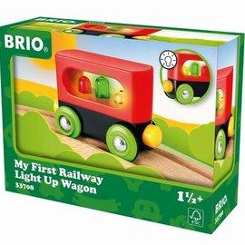 Brio Brio 33708 Mijn eerste wagon met licht