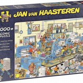 Jumbo Jan van Haasteren - De drukkerij (3000 stukjes)