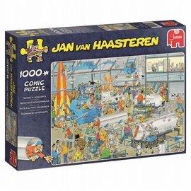 Jumbo Jan van Haasteren puzzel - Technische hoogstandjes (1000 stukjes)