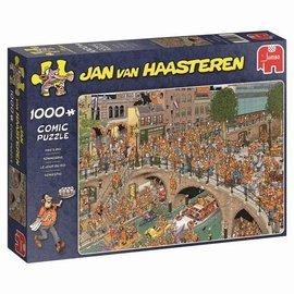 Jumbo Jan van Haasteren puzzel - Koningsdag (1000 stukjes)