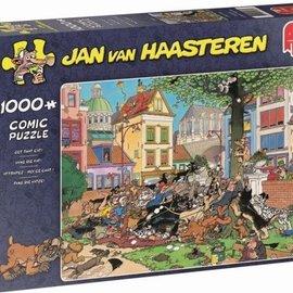 Jumbo Jan van Haasteren puzzel - Vang die kat! (1000 stukjes)
