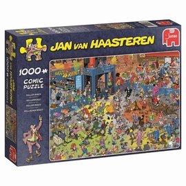 Jumbo Jan van Haasteren puzzel - Rollerdisco (1000 stukjes)