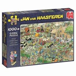Jumbo Jan van Haasteren puzzel - Boerderij bezoek (1000 stukjes)