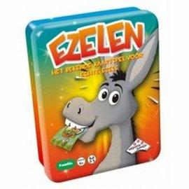 Identity Games Ezelen (kaartspel in blikken doos)