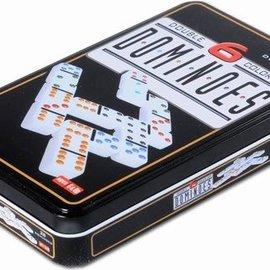 Longfield games Domino dubbel 6 in blik
