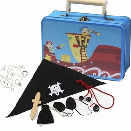 Tinnen piratenkoffer