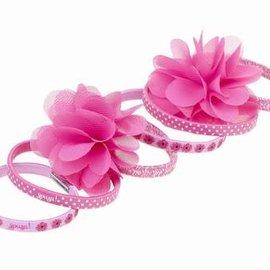 Souza Souza Haar-elastiekjes Pammy roze