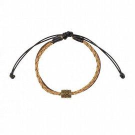 Souza Armband Max. bruin/zwart. verstelbaar