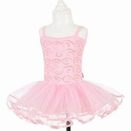 Souza Tutu jurk Sheila. l. roze met pailletten. 3-4 jaar/98-104 cm