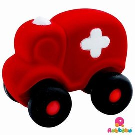 Rubbabu Rubbabu Hopkins de Ambulance groot (rood)