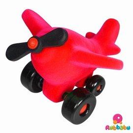 Rubbabu Takota propeller vliegtuig rood