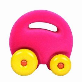 Rubbabu Mascotte auto roze