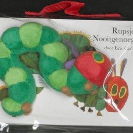 Boek Rupsje Nooitgenoeg (karton. klein + rups)