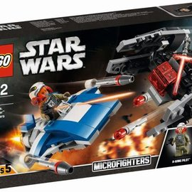 Lego Lego 75196 A-wing vs TIE Silencer Microfighters