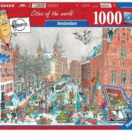 Ravensburger Ravensburger puzzel Amsterdam in de winter (1000 stukjes)