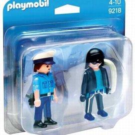 Playmobil Playmobil - Politieagent met dief (9218)