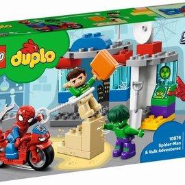 Lego Lego Duplo 10876 Spider-man en Hulk avonturen