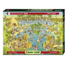 Heye Heye puzzel Nile Habitat (1000 stukjes)