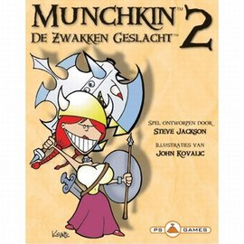 PS Games Munchkin 2 - De Zwakken Geslacht