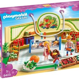 Playmobil Playmobil - Kruidenier (9403)