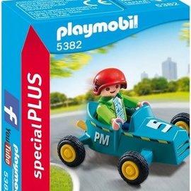 Playmobil Playmobil - Jongen met Kart (5382)