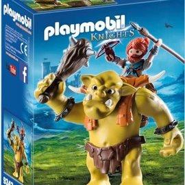 Playmobil Playmobil - Reuzentrol met soldatendwerg (9343)