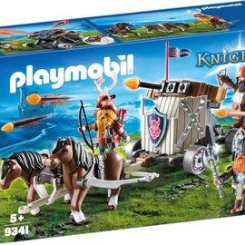 Playmobil Playmobil - Mobiele ballista met pony's en dwergen (9341)