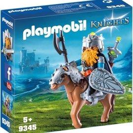 Playmobil Playmobil - Dwerg met gevechtspony (9345)