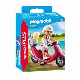 Playmobil Playmobil - Meisje met scooter (9084)