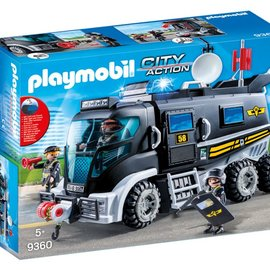 Playmobil Playmobil - SIE Truck met licht en geluid (9360)