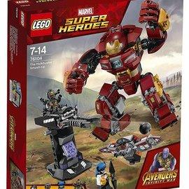 Lego Lego 76104 The Hulkbuster Smash-Up
