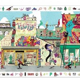 Djeco Djeco 7453 Observatie legpuzzel - Street art (200 stukjes)