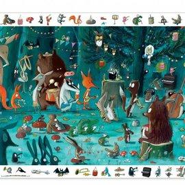 Djeco Djeco 7588 Observatie legpuzzel - Het orkest (35 stukjes)