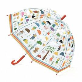 Djeco Djeco 4809 Paraplu - Onder de regen