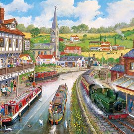 Gibsons Gibsons puzzel Ye Olde Mill Tavern (1000 stukjes)