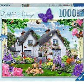 Ravensburger Ravensburger puzzel Delphinium Cottage (1000 stukjes)