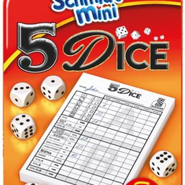 Schmidt Schmidt Yahtzee (5 Dice) mini