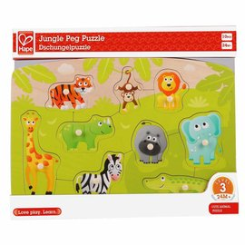 Hape Hape Houten  Jungle Puzzel