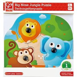 Hape Hape Big nose Jungle Puzzel