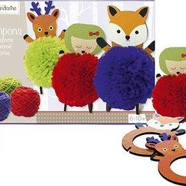 Mandarine Mandarine  Creatieve box Pompons